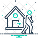 House Exit House Exit Icon