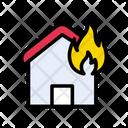 House Burn Fire Icon