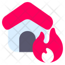House Fire Fire Emergency Icon