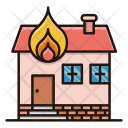 House Fire Building Icon