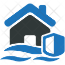 House Home Flood Icon