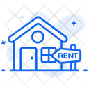 For Rent House For Rent Property Rental Icon