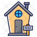 House For Rent Rent House Icon