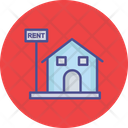House For Rent Landed Property Property Rental Icon