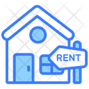 House For Rent Real Estate Property Rent Icon