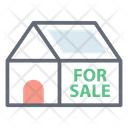 House For Sale Real Estate Property Sale Icon