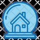 House Glass Ball House Glass Icon