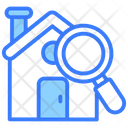 House Inspection Building Inspection House Search Icon