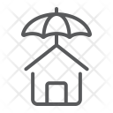 House Protection Insurance Icon