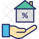 House Interest House Value Property Cost Icon
