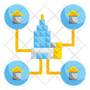 House Job Working Office Icon