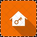 House Lock Home Icon