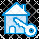 House Key Home Icon