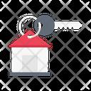 House Key Lock Icon