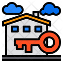 House Building Key Icon
