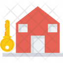 Capture Of House Occupied House Down Payment Icon