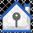 House Key Door Key Property Icon