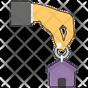 Key House Key Keychain Icon