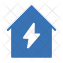 House Flash Power Icon