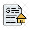 House Loan Real Estate Construction Icon