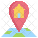 House Map Navigation Icon