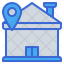 House Pin Location Icon