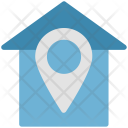 House Pointed Navigation Icon