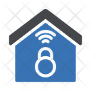 Lock House Protection Icon
