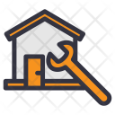 House Maintenance Home Icon