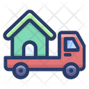 House Mover Mover Estate Home Shifting Icon