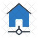 House Network Connection Icon