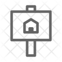 House Sign Property Icon