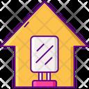 House Of Mirrors House Mirror Icon