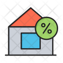 House Percentage Persent Icon