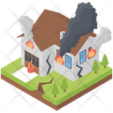 House On Fire Icon