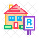 House Rent Building Icon