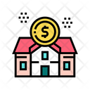 Rental House Building Icon