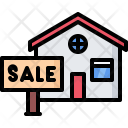 Sale Nameplate Building Icon
