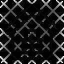 House Padlock Icon