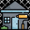 House Brush Paint Icon