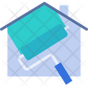 House Painting House Paint Icon