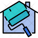 House Paint Home Icon