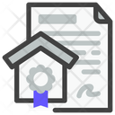 House Paper Icon
