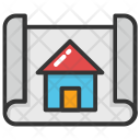 Map Plan House Icon