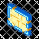 House Plan Isometric Icon
