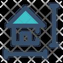 House Plan Measurement Plan Icon