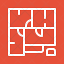 House plan Icon
