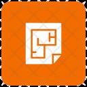 Document House Design Icon