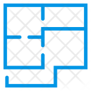 House Map Design Icon