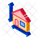 Equipment Height House Icon